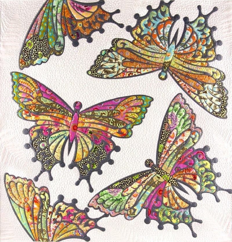 Pattern. Modern Butterfly. JoAnn Hoffman (Clearance)
