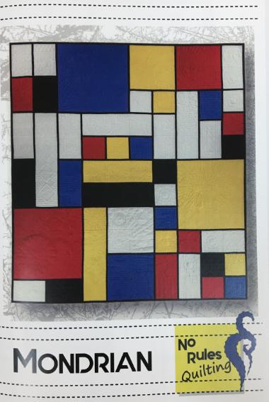 Pattern. Mondrian by Mary Dylke