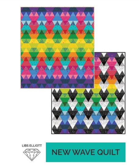 Pattern. New Wave EPP w/paper templates! (Clearance) by Libs Elliott
