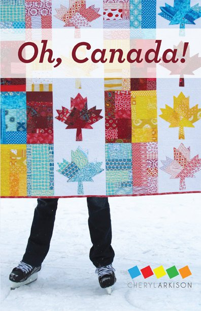 Pattern. Oh Canada by Cheryl Arkison
