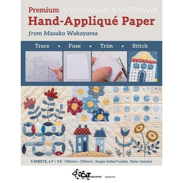 Hand Applique Paper 1-side fusible stabilizer