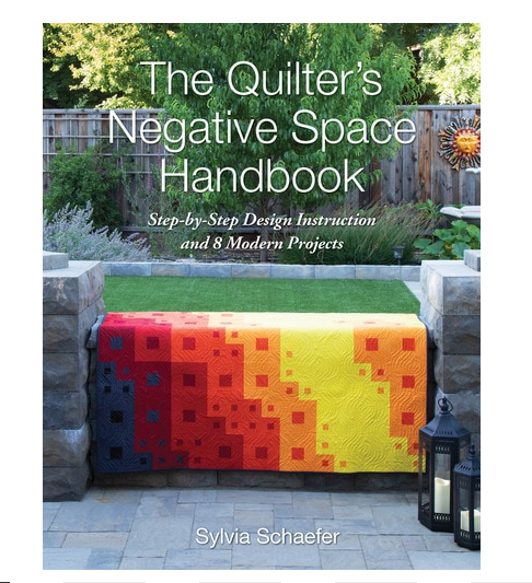Book. Quilters Negative Space Handbook