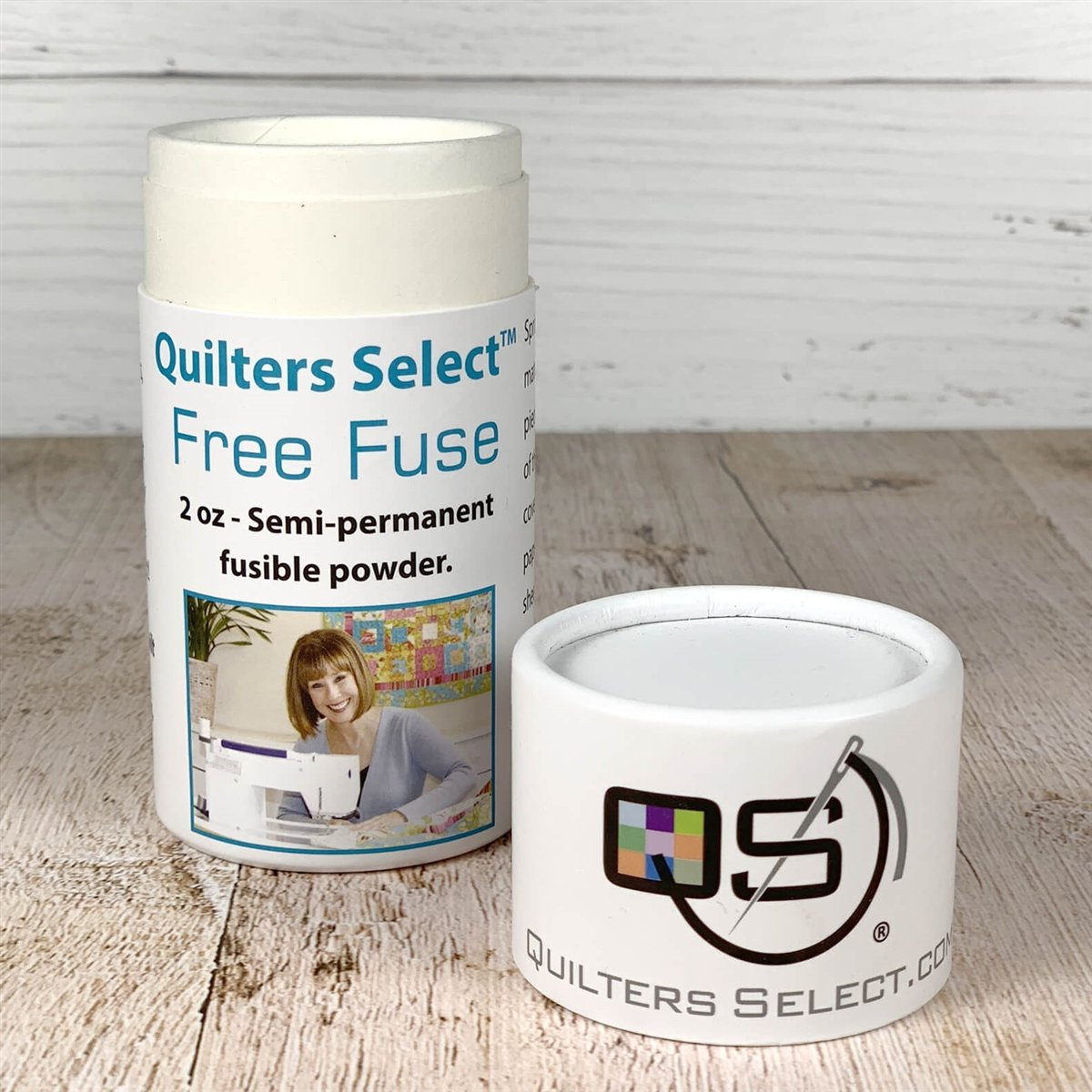 Quilters Select Free Fuse Fusible Basting Powder