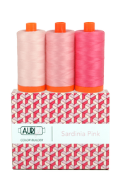 Aurifil 50 wt SARDINIA PINK Cotton Thread (3)