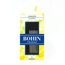 Bohin Sharps Needles No. 9