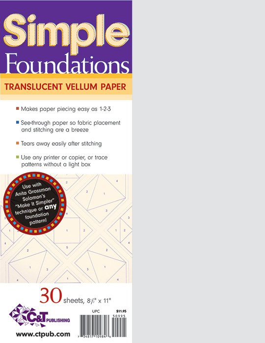 Simple Foundations Translucent Printable Vellum