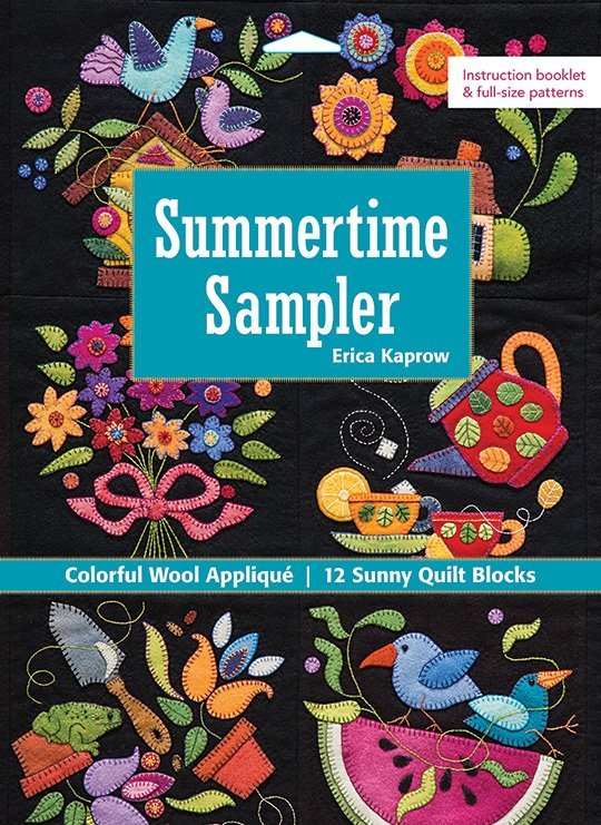 PatternBook. Summertime Sampler by Erica Kaprow