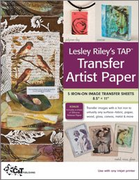 TAP Transfer Artist Paper by Lesley Riley