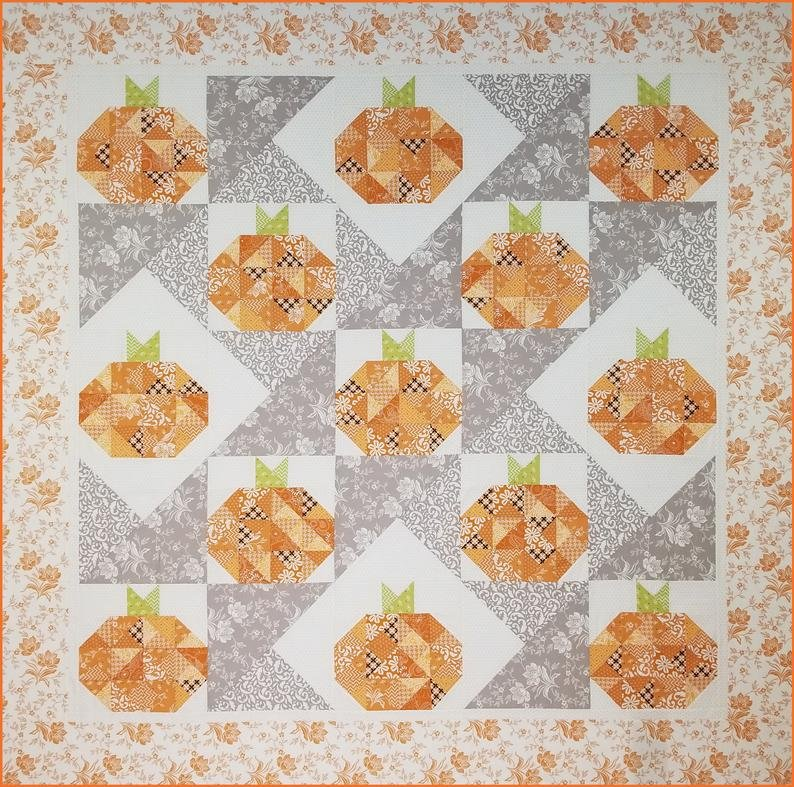 Pattern. Turning Up Pumpkins Stashbuster!