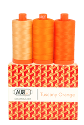 Aurifil 50 wt TUSCANY ORANGE Cotton Thread (3)