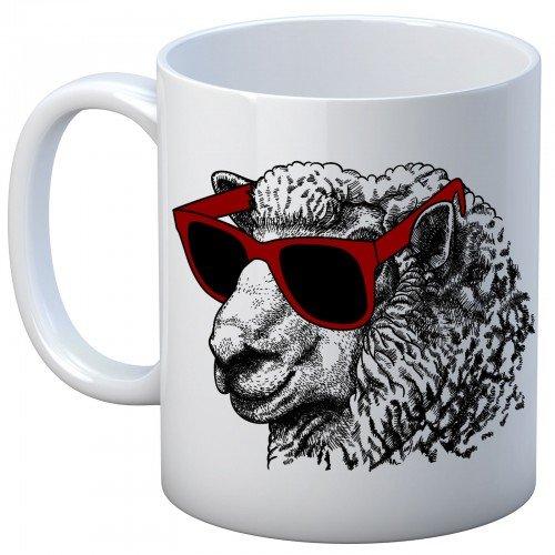 Cool Sheep Mug WHITE