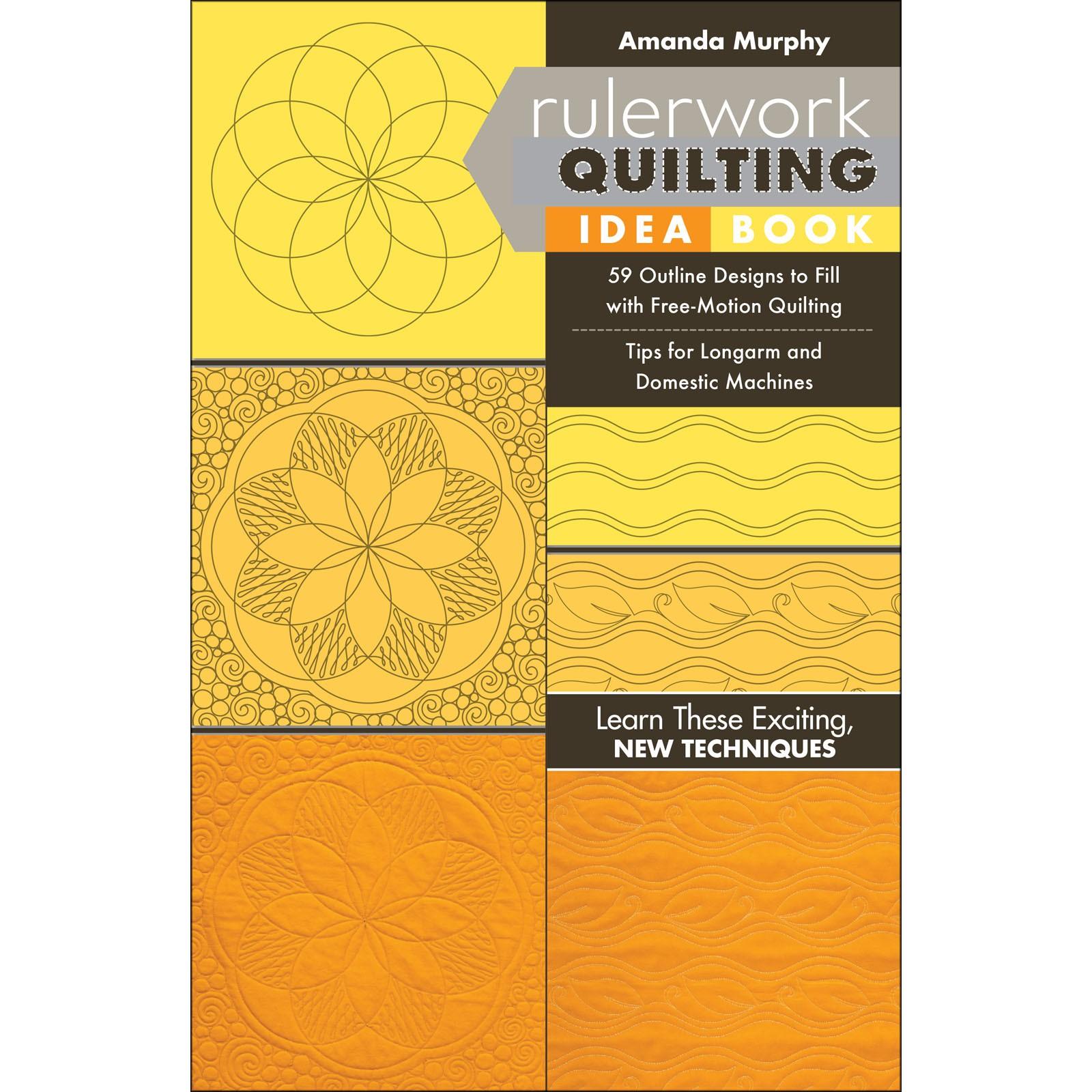 Book. Ruler Work Quilting Ideas Amanda Murphy