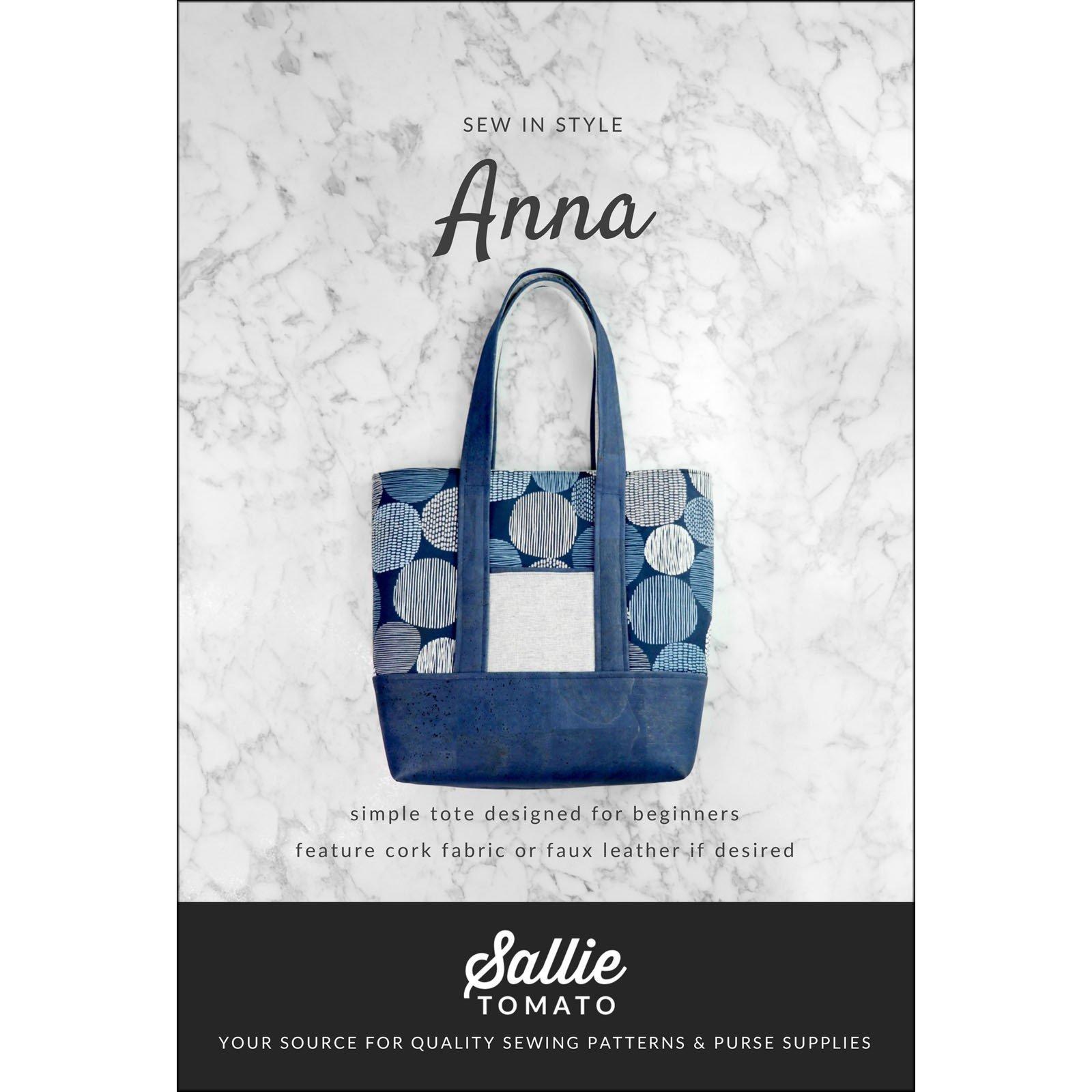 Pattern. Anna Bag by Sallie Tomato