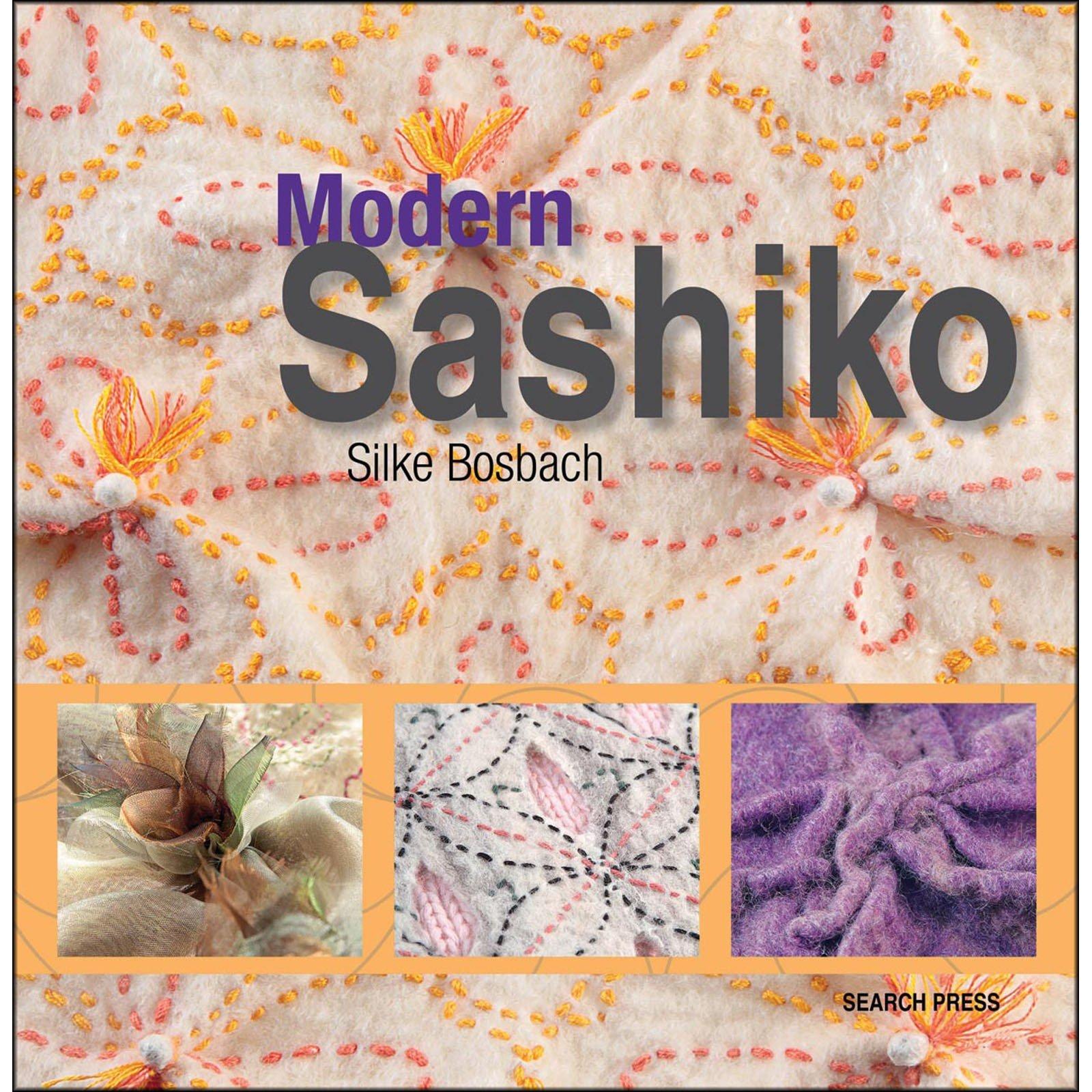 Book. Modern Sashiko by Silke Bosbach