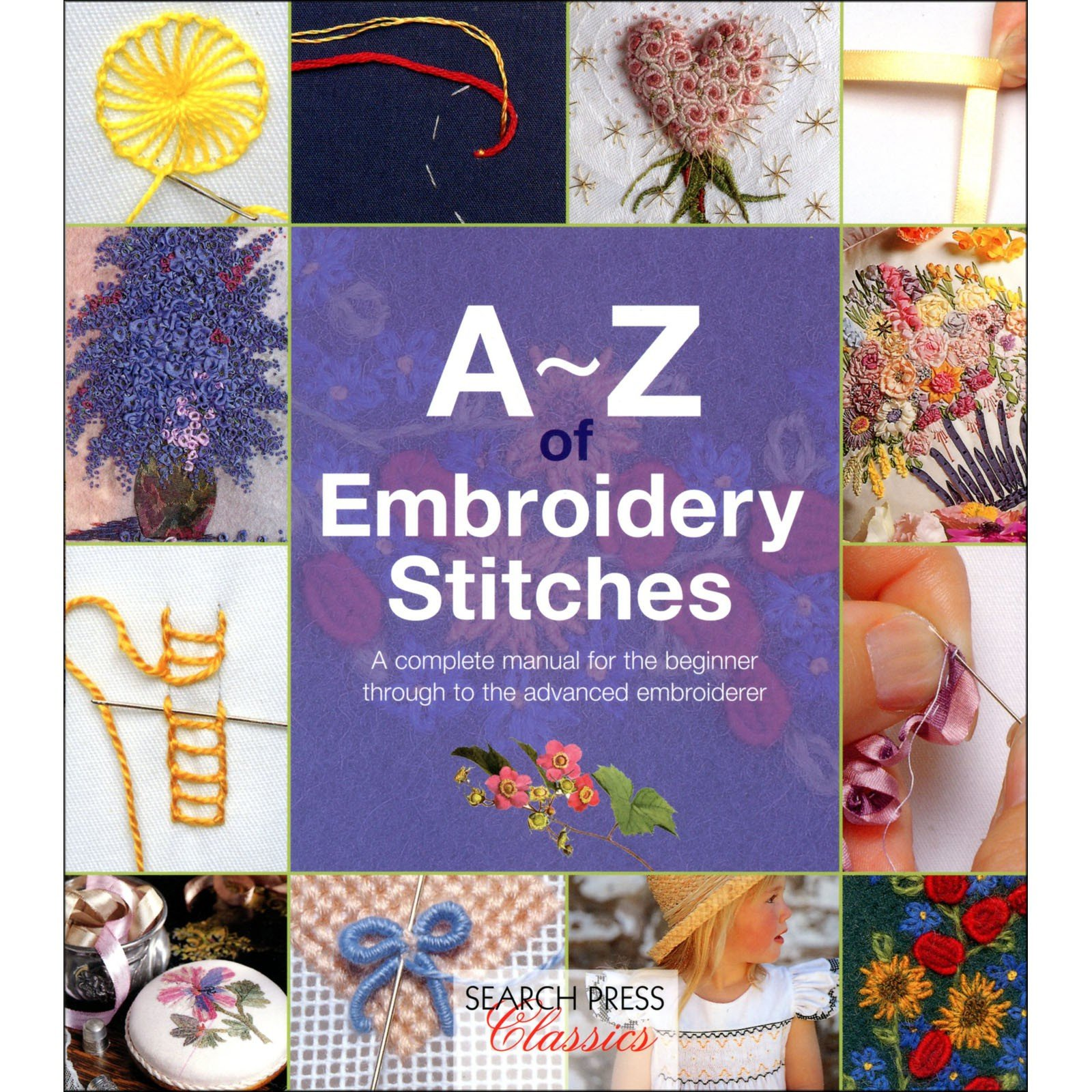 Book. A-Z of Embroidery Stitches