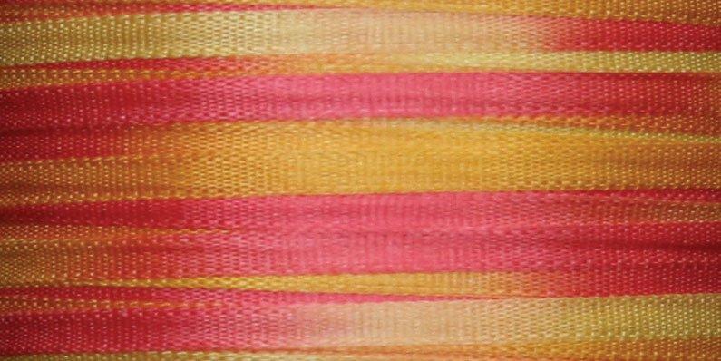 #108 LANTANA 100% Japanese Silk Ribbon 2mm x 5 yds.