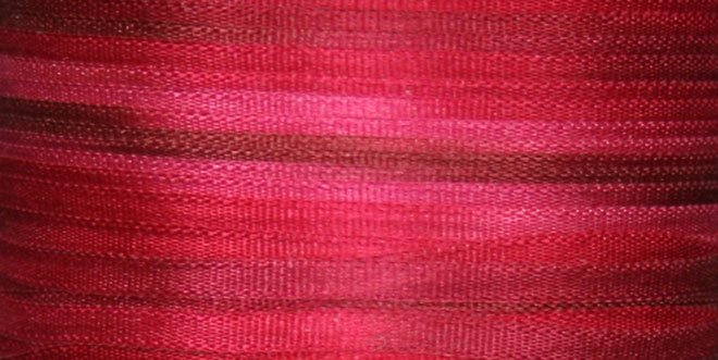 #127 A DOZEN ROSES100% Japanese Silk Ribbon 2mm x 5 yd