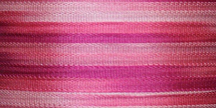 #102 PINK PEONY 100% Japanese Silk Ribbon 4mm x 5 yds.
