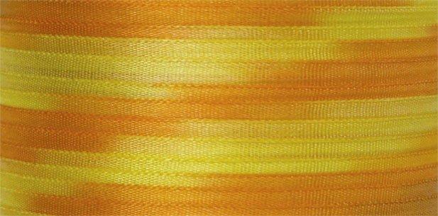 #106 SUNFLOWERS 100% Japanese Silk Ribbon 7mm x 3 yds.