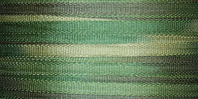#115 FOREST 100% Japanese Silk Ribbon 7mm x 3 yds.