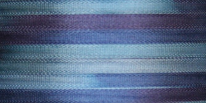 #119 OCEAN BLUE 100% Japanese Silk Ribbon 7mm x 3 yds.