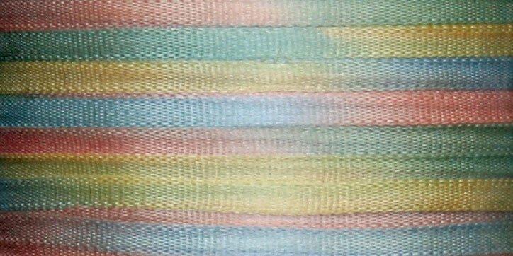 #125 PASTEL BOUQUET 100% Japanese Silk Ribbon 7mm x 3 yds.