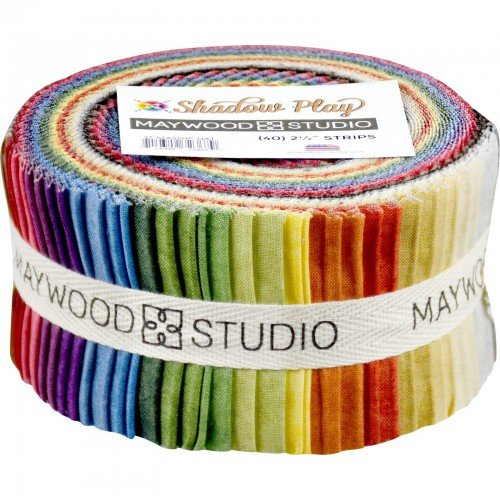 Maywood Shadow Play NATURAL Pre-Cut 2.5 strips (40)