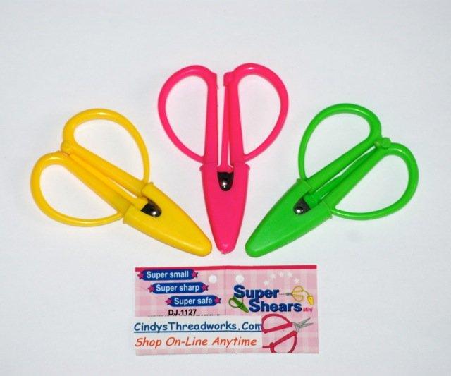 Super Shears Mini Travel Scissor Snips
