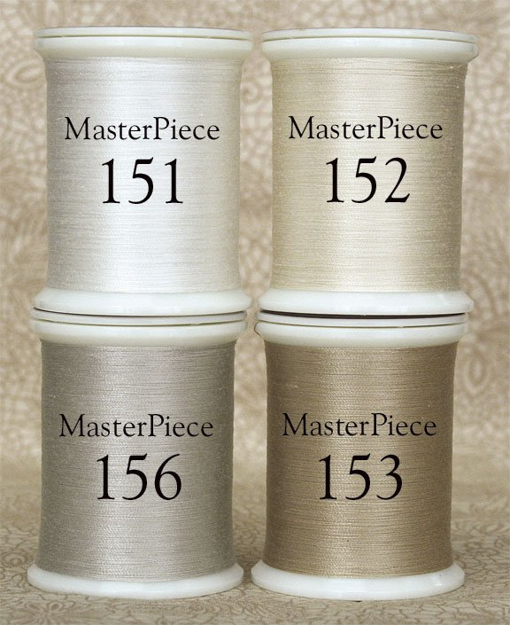 MasterPiece Thread Collection. Light Neutral Colors.