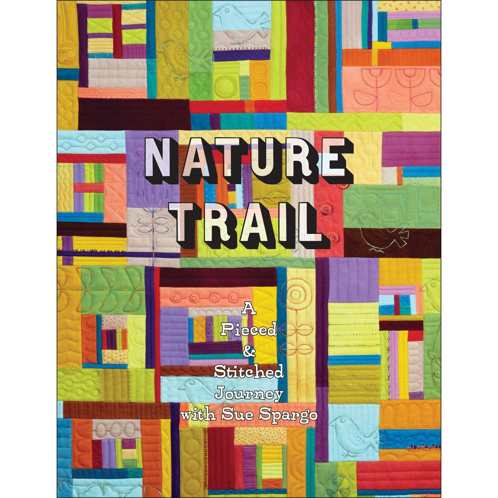 Book. Nature Trail by Sue Spargo