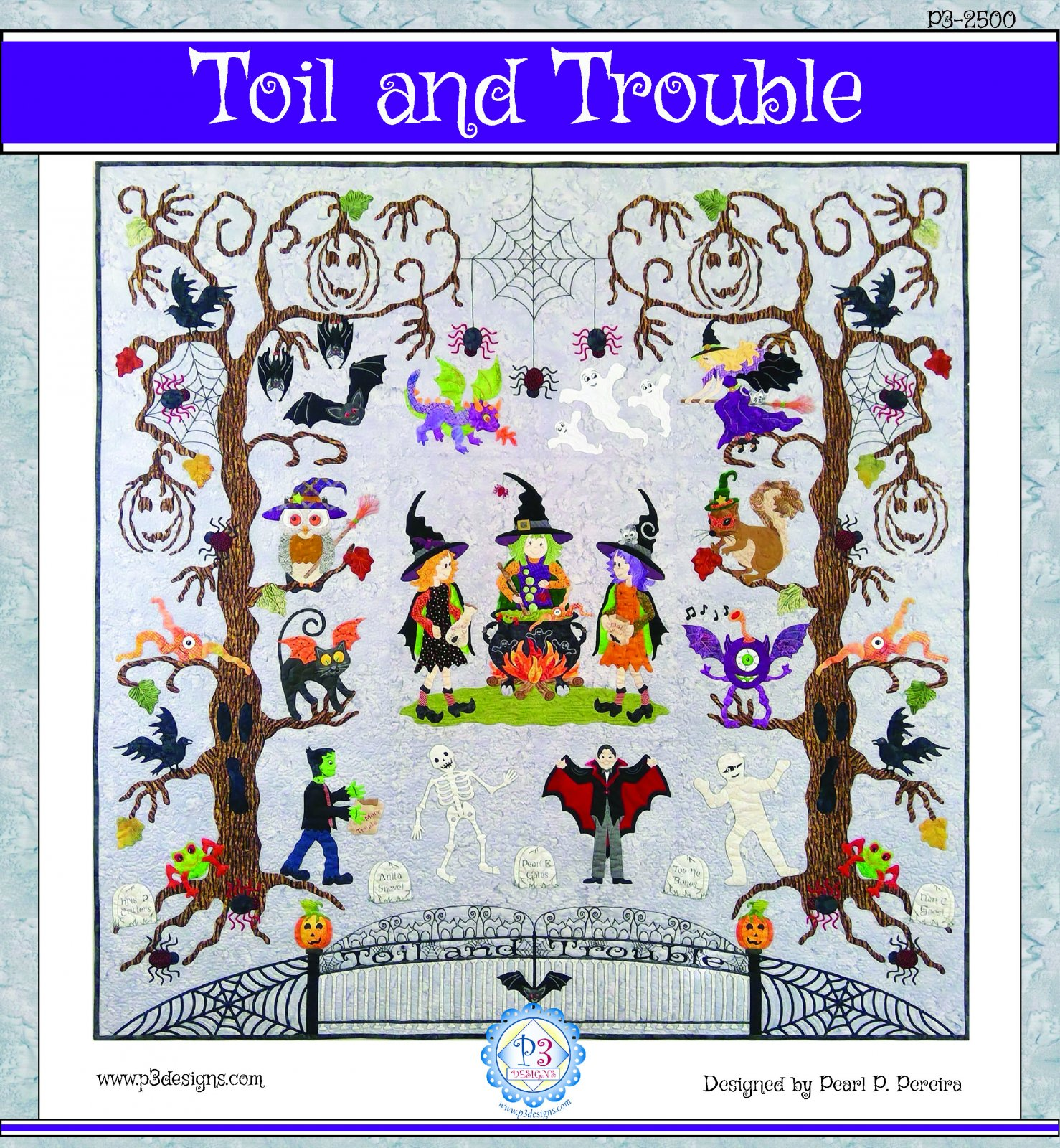 Pattern. Toil and Trouble Pearl P. Pereira IN STOCK!