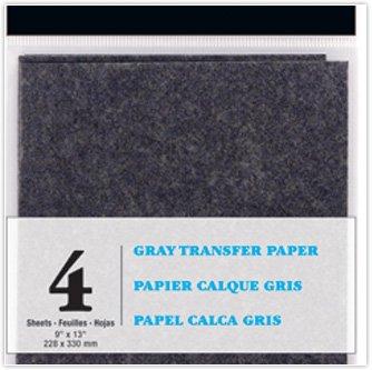 Transfer Paper Gray 9 x 13