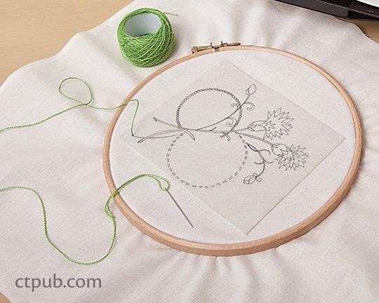 Wash Away Stitch Stabilizer (sticky)
