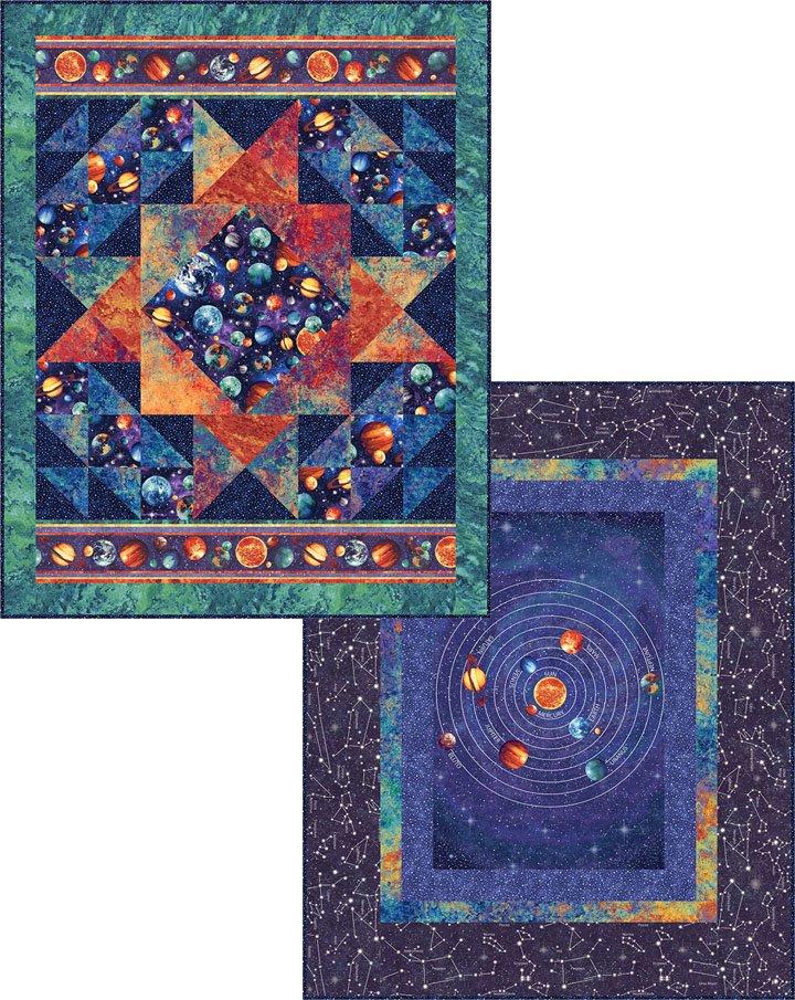 Cosmic Glow Front Quilt