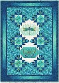 Bejeweled Wings - Blue Lagoon