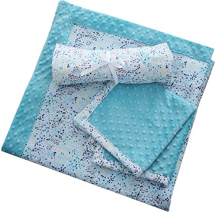 Cuddle Patty Cakes Swaddle Gift Set Sugar Cookie