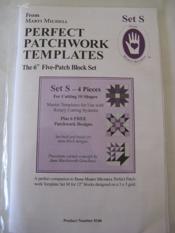 Perfect Patchwork Templates Set S