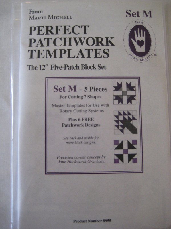 Perfect Patchwork Templates Set M