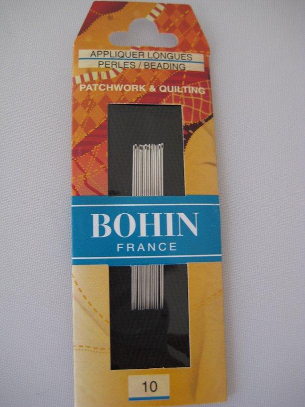Needles: Bohin Applique/Long