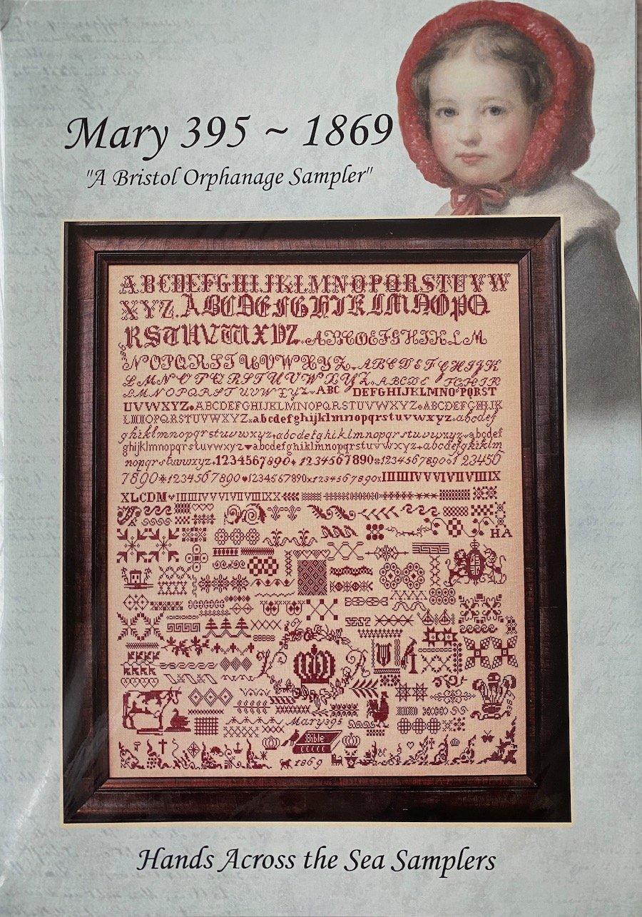 Mary 395 - 1869 A Bristol Orphanage Sampler
