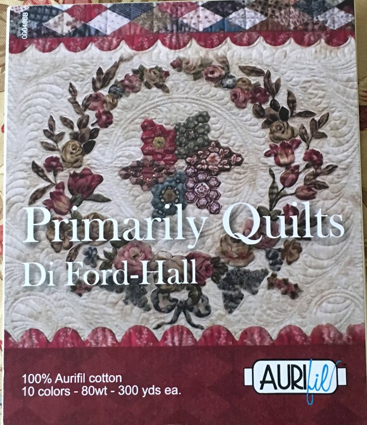 Di Ford-Hall Aurifil Thread Set