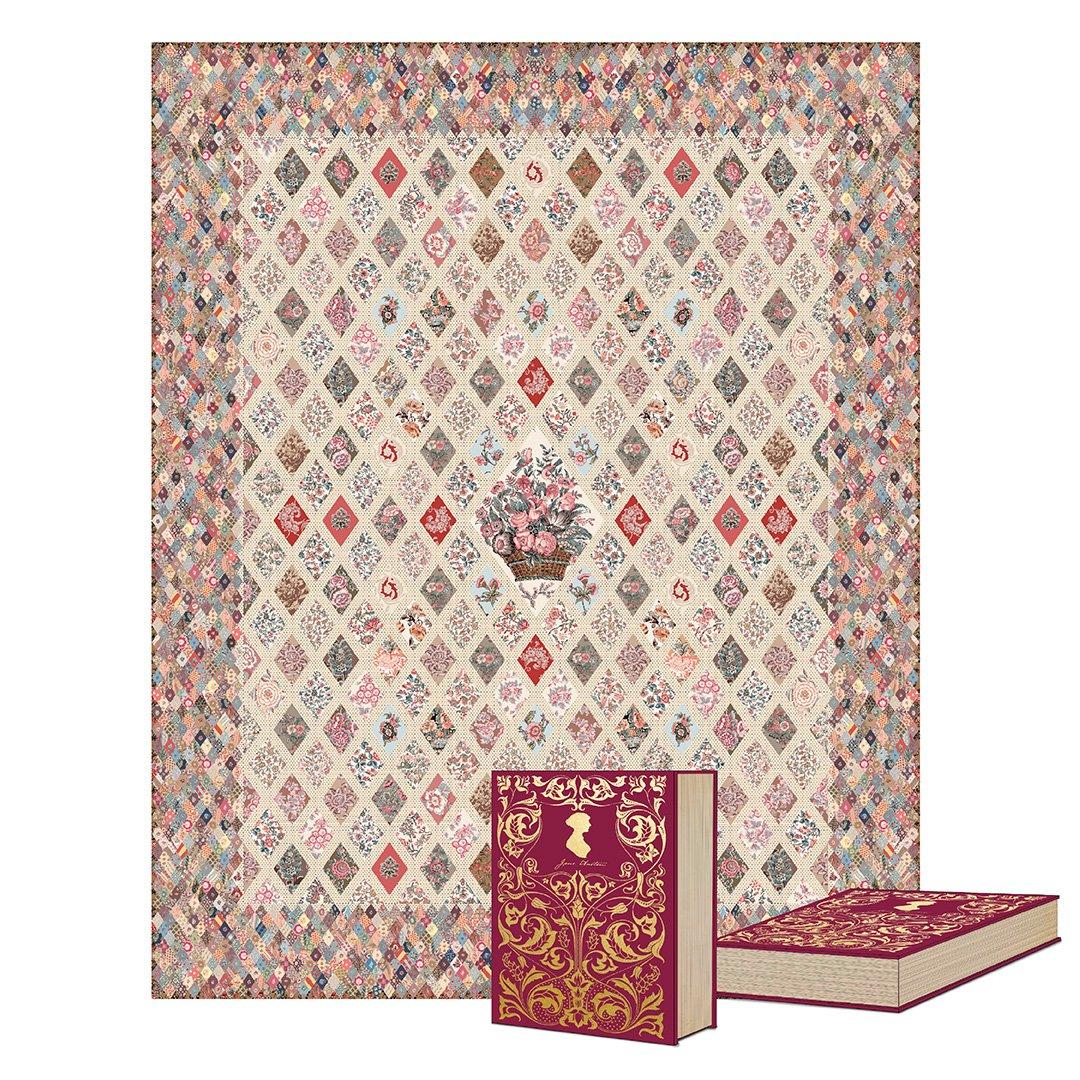 Jane Austen at Home Coverlet Kit