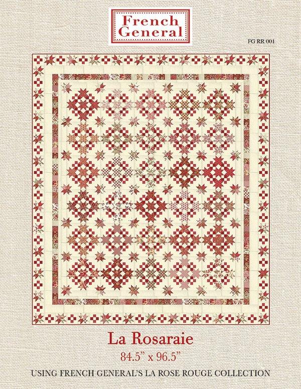 La Rosaraie Quilt Pattern