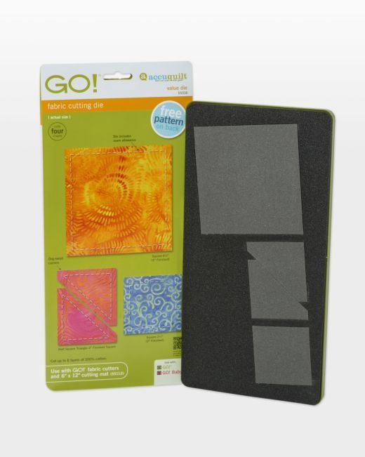 GO! Value Die (comes w/GO! Fabric Cutter, not included w/GO! Baby Cutter)