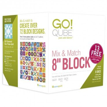 GO! QUBE 8 MIX & MATCH 8 BLOCK SET