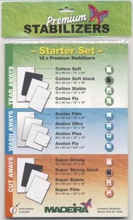 Madeira Stabilizer Sampler Pack