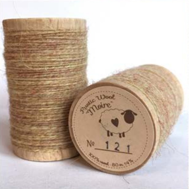 Rustic Moire Thread 121
