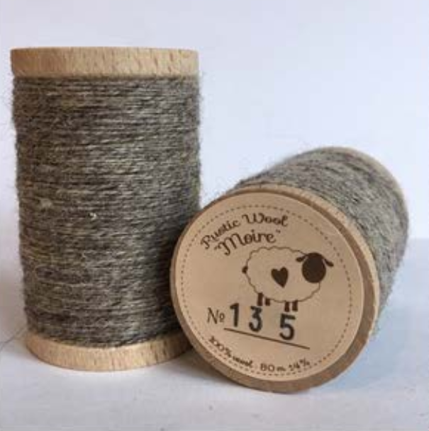 Rustic Moire Thread 135
