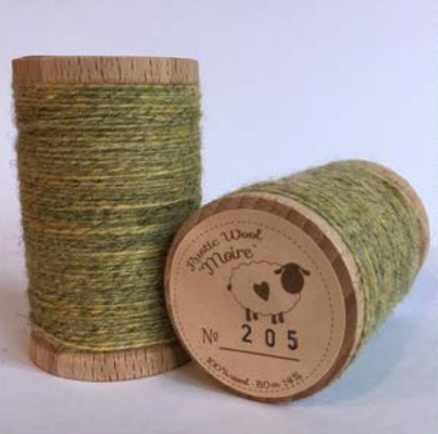 Rustic Moire Thread 205*