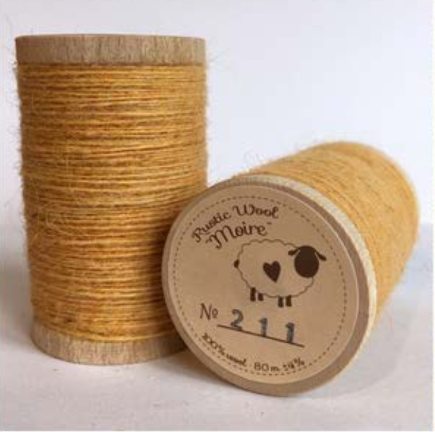 Rustic Moire Thread 211